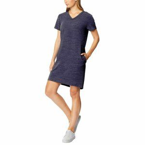 32 Degrees Cool Blue Heather Dress Small